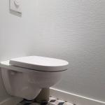 Installation d'un WC suspendu - La Maison Des Travaux Rennes